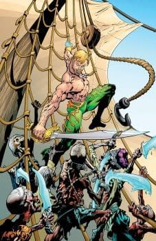15 Years After Publishing Rick Veitchs Aquaman Vol 1 DC Comics Gets Round To Vol 2