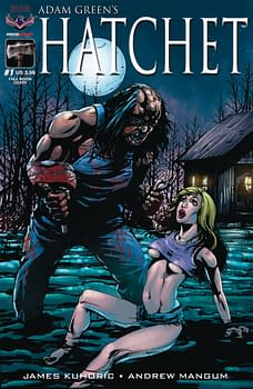 Hatchet Gets An Ongoing Series From American Mythology September 2017 Solicits