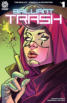 Tim Seeley And Priscilla Petraites Launch Their Brilliant Trash In AfterShock Comics' November 2017 Solicits