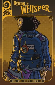 Cult Classic Return to Whisper #2- Vault Comics March 2018 Solicits