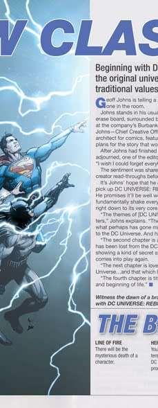 DC Rebirth Previews Was Put Together By Ex-Wizard Magazine Staffers