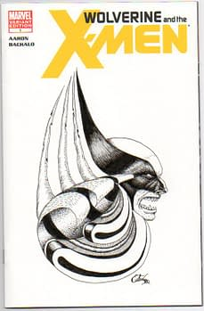 Kerry Talbott And The Marvel Blank Sketch Covers