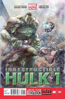Indestructible Hulk At The Top Of Marvel NOW! On ComiXology All Over The World