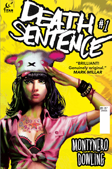 Death Sentence #1 2nd print cover