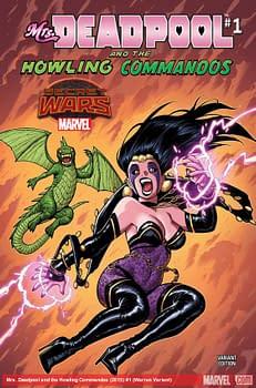 A previous Adam Warren Deadpool cover...