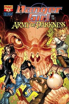 Extended Preview Of Danger Girl And Army Of Darkness, And Other Dynamite Creatures