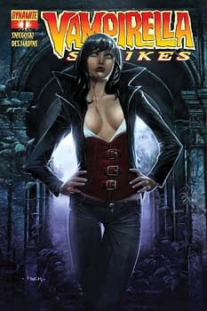 Vampirella Strikes #1 Sells Out Of Regular Cover, Now Manara, Finch And Turner Covers For Regular Sale