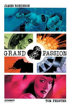 Dynamite Offers Fan Gear Packs Including Vampirella, Control, and Grand Passion