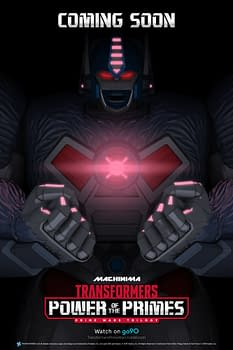 First Teaser Poster for Transformers: Power of the Primes