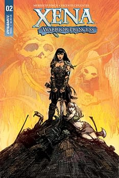Exclusive Extended Previews of Xena, Warrior Princess #2 and Barbarella #4