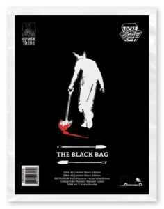 ComixTribe Black Bag For Local Comic Shop Day Contains Sold-Out Sink #1 And Sink #2