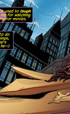 Batgirl Really Seems To Think Dick Grayson Is Dead. Were Not So Sure.