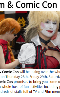London Film And Comic Con Cancels Its Thursday