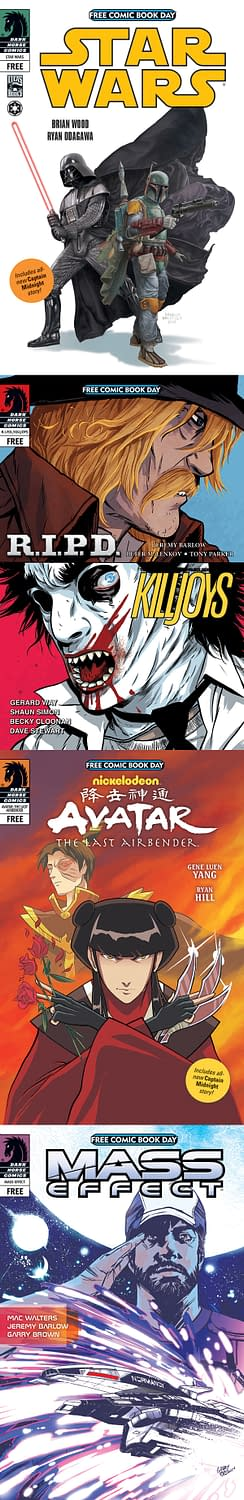 Two More Free Comic Book Day 2013 Titles From Dark Horse And IDW