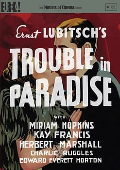 Masters of Cinema Monthly December 2012 – Announcements, Park Row and Trouble in Paradise