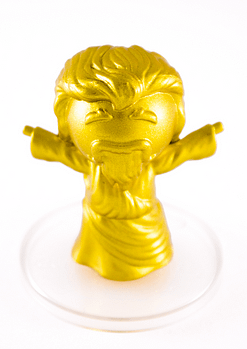 Gold God SDCC Cyanide and Happiness Figures