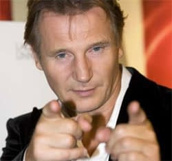 And Now For Something Completely Different: Liam Neeson Bare Knuckle Fighting With A Wolf