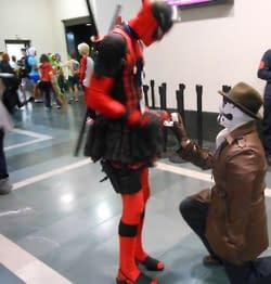 When Rorschach Proposed To Deadpool