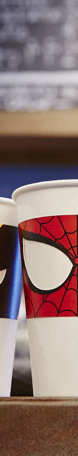 Because Coffee Cups Have Secret Identities Too