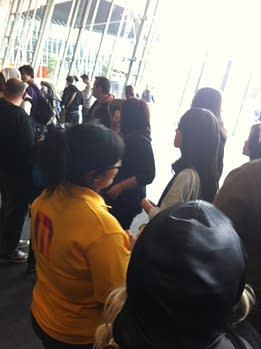 Oz Comic Con – From The Line For Stan Lee