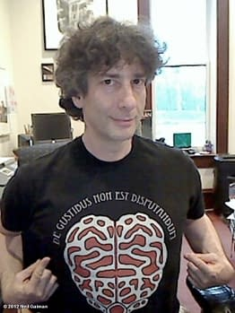 Neil Gaiman Poem On Threadless T-Shirts – And You Can Draw The First Chapter