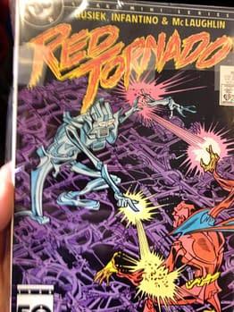 Jeff Lemire mystery Red Tornado comic