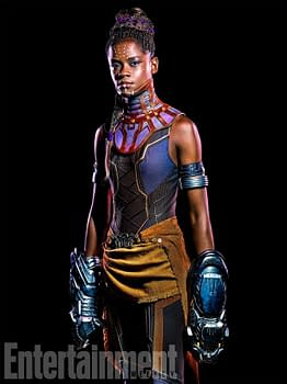 Letitia Wright who will be playing T'Challa's sister Shuri will make an appearance in Infinity War.
