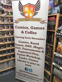 Comics, Games & Coffee Opens Second Store, In Winchester