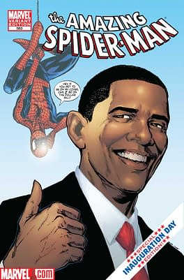 Ten Years Ago Today – Marvel Put President Obama in a Spider-Man Comic