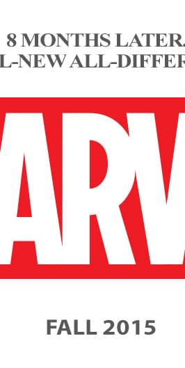 All-New All-Different Marvel Previews Hit Stores In July