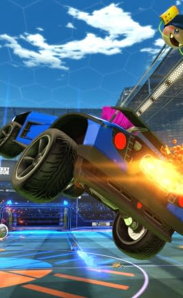 Sunset Overdrive Invades The Xbox One Version Of Rocket League