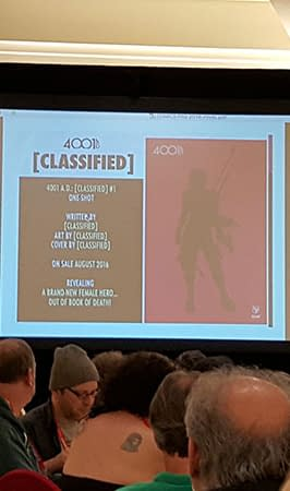 Valiants New Female Hero is CLASSIFIED &#8211 Not Announcing At ComicsPRO