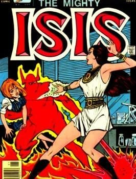 The Comic Book History Of Adrianna Tomaz AKA Isis