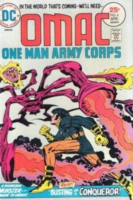 DC Relaunch: OMAC #1