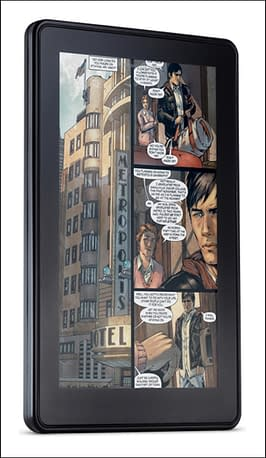 What's Up With DC Comics, ComiXology And The Kindle?
