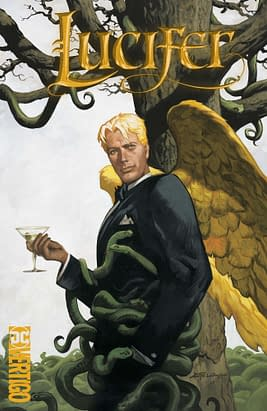 Lucifer Omnibus Increases Page Size, Goes Hardcover