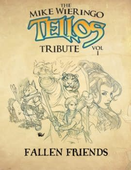 Over 200 Comics Creators Contribute To Mike Wieringo Tellos Tribute In Two Volumes