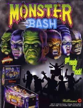 Drac Attack Monster Bash Pinball