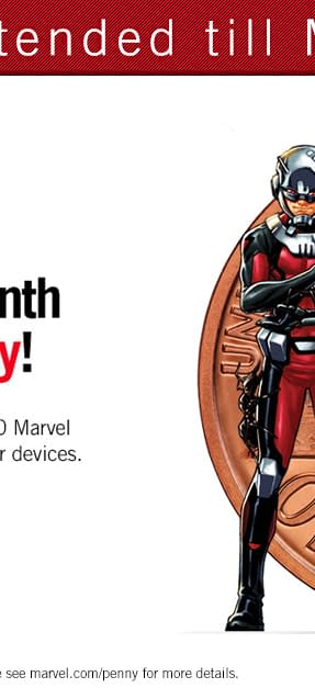 Marvel Unlimited Continues One Cent Deal Till Monday