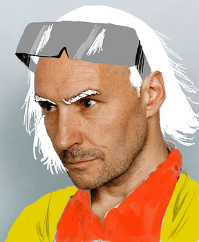 What If… Grant Morrison Had Hair?