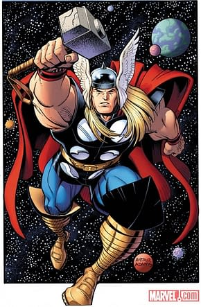 Travis Charest Cover To The Mighty Thor #1