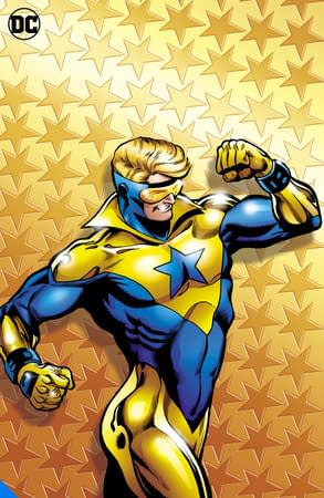 Booster Gold, one of many DC Big Books in 2020 and 2021