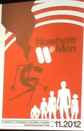 Image Comics Announces Nowhere Men by Eric Stephenson and Nate Bellgarde