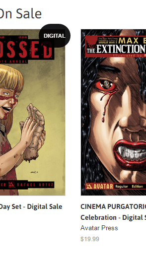 Avatar Press Goes DRM-Free Digital For Alan Moore Garth Ennis Kieron Gillen Max Brooks Jonathan Hickman Comics And More
