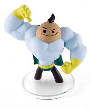 Senor CleanFist SDCC Cyanide and Happiness Figures