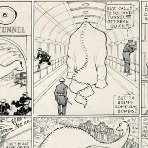 The Lost Comic Book Work Of Winsor McKay &#8211 Dino &#8211 To Be Published In November