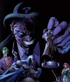 Its The Joker Against The Riddler In The Latest DC Versus