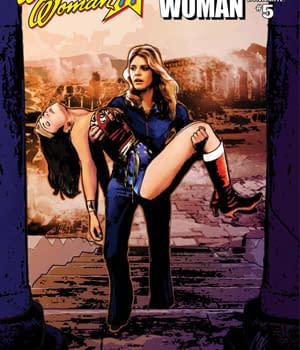 Will Diana Survive Wonder Woman 77 Meets The Bionic Woman #5 Review