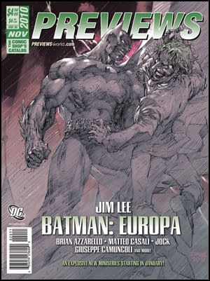 Where In The World Is Batman Europa?