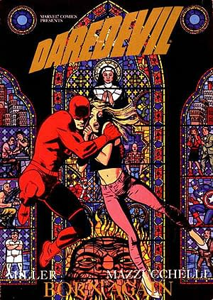 Fringe Writer Hired To Reboot Daredevil Movie Franchise with Adaptation of Frank Miller & David Mazzucchelli's Born Again